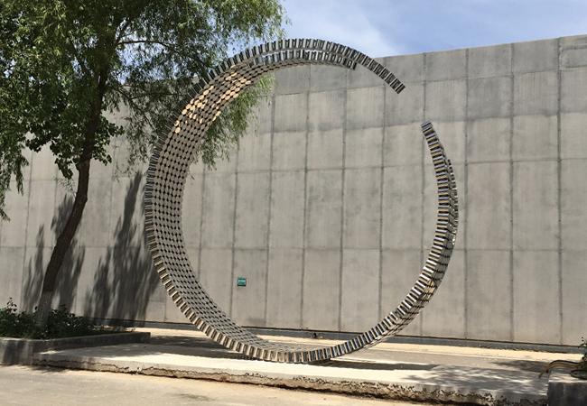 食草堂不锈钢制品雕塑标识